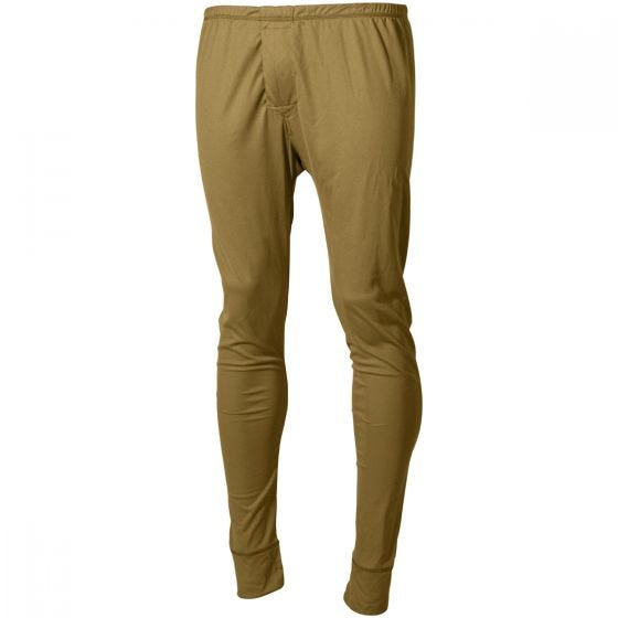 MFH US Level I Gen III Lange Unterhose Coyote Tan