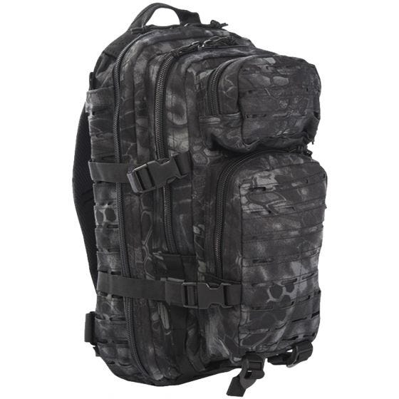 Mil-Tec US Assault Pack Laser Cut Small Einsatzrucksack Mandra Night