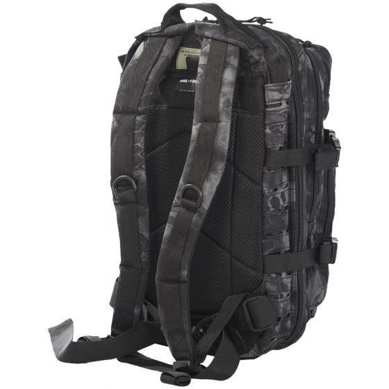 Mil-Tec US Assault Pack Laser Cut Small Einsatzrucksack Mandra Night