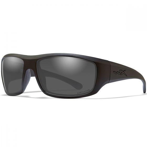Wiley X WX Omega Glasses - Captivate Smoke Grey Lens / Matte Black Frame