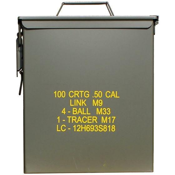 Mil-Tec US Ammo Box M9 Cal,50 Munitionskiste Oliv