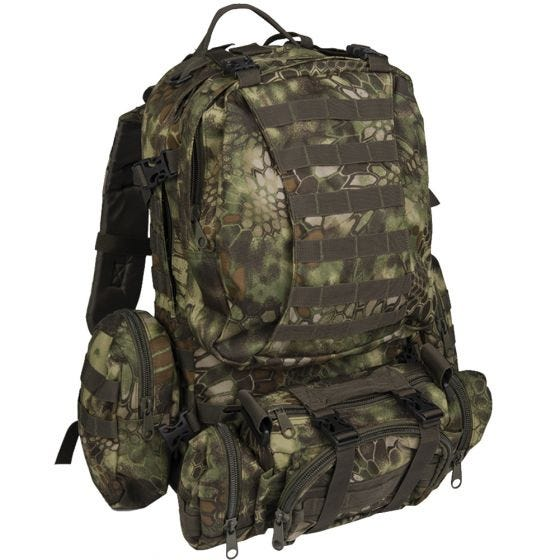 Mil-Tec Defense Pack Assembly Rucksack Mandra Wood