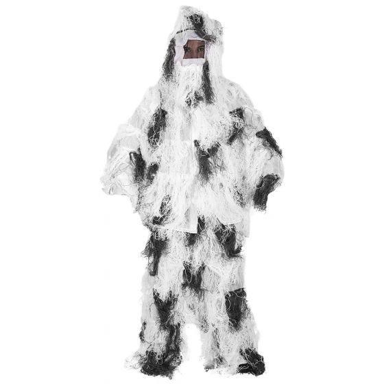 Mil-Tec Anti-Fire Basic Ghillie-Anzug - Snow