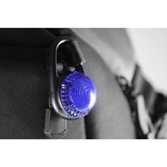 Adventure Lights Guardian Tag-It Clip-Sicherheitslampe Blau