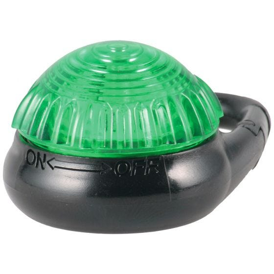 Adventure Lights Guardian Tag-It Clip-Sicherheitslampe Grün