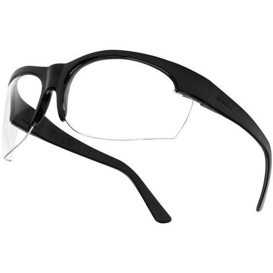 Bolle Super Nylsun III Schutzbrille klare Gläser schwarzes Gestell