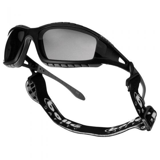 Bolle Tracker Schutzbrille rauchgraue Gläser schwarzes Gestell