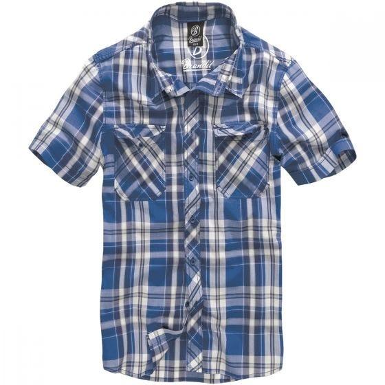 Brandit Roadstar Hemd Blau