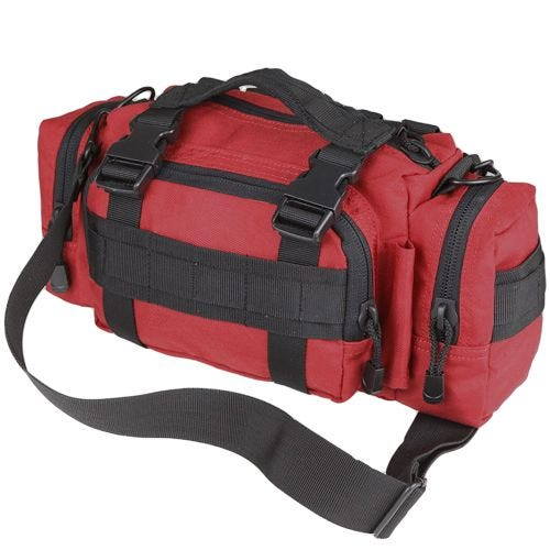 Condor Modulare Einsatztasche Rot