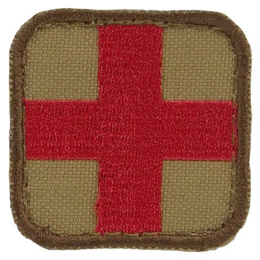 Condor Erste-Hilfe-Patch Tan/Rot