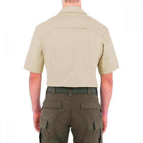 First Tactical Specialist Herren Einsatzhemd kurzärmelig Khakifarben