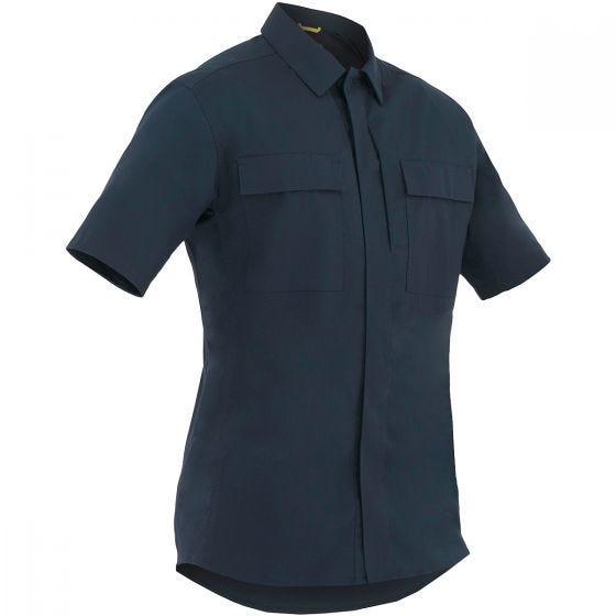 First Tactical Tactix Herren BDU-Hemd kurzärmelig Midnight Navy