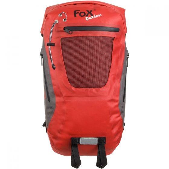 Fox Outdoor DRY PAK 20 Wasserdichter Seesack Rot
