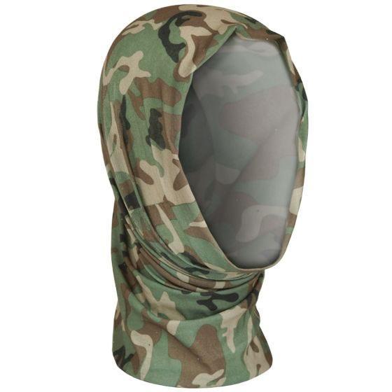 Mil-Tec Multifunktionale Kopfbedeckung Woodland