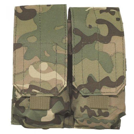 MFH M4/M16 Doppel-Magazintasche mit MOLLE-Befestigungssystem Operation Camo