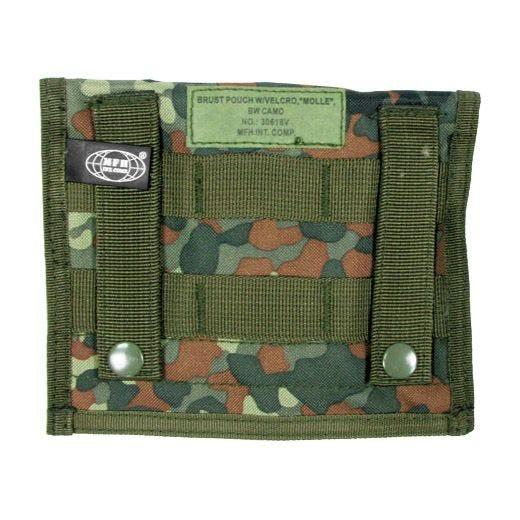 MFH Admin Pouch Organizer-Tasche mit MOLLE-Befestigungssystem Flecktarn
