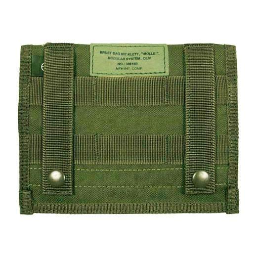 MFH Admin Pouch Organizer-Tasche mit MOLLE-Befestigungssystem Oliv
