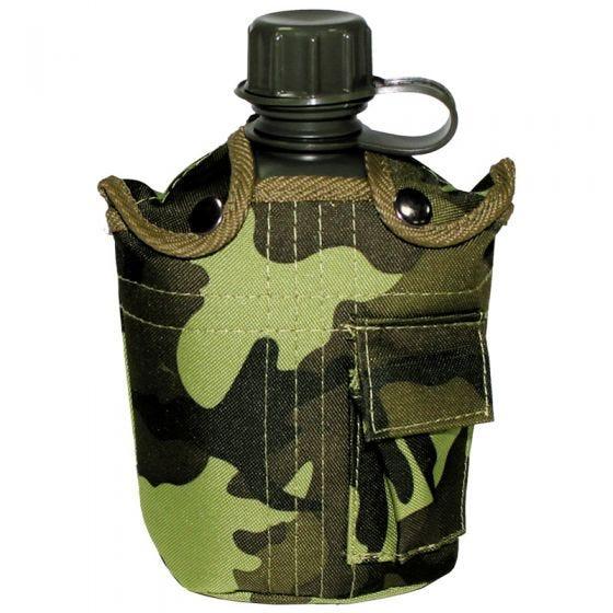 MFH US Style Feldflasche Czech Woodland