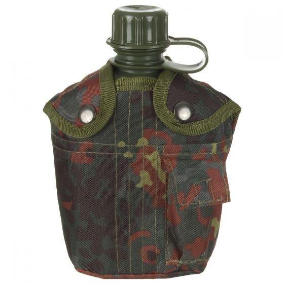 MFH US Style Feldflasche Flecktarn