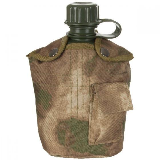 MFH US Style Feldflasche HDT Camo FG