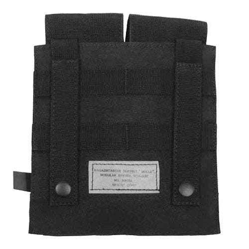 MFH M4/M16 Doppel-Magazintasche mit MOLLE-Befestigungssystem Schwarz