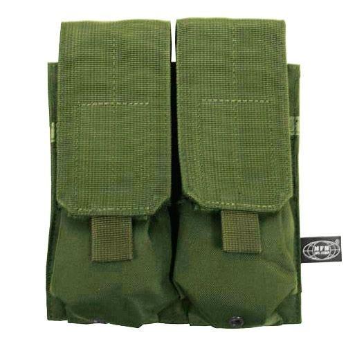 MFH M4/M16 Doppel-Magazintasche mit MOLLE-Befestigungssystem Oliv