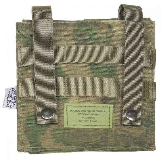 MFH Doppel-Magazintasche für M4/M16 HDT Camo FG