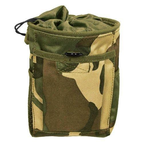 MFH Dump Pouch Abwurftasche mit MOLLE-Befestigungssystem Woodland