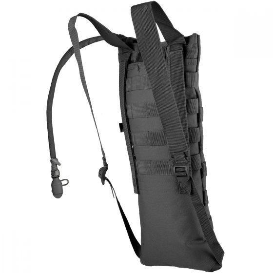 MFH Trinkblase und Tasche mit MOLLE-Befestigungssystem Schwarz