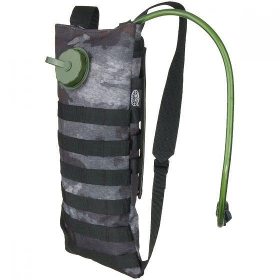 MFH Trinkblase und Tasche mit MOLLE-Befestigungssystem HDT Camo LE