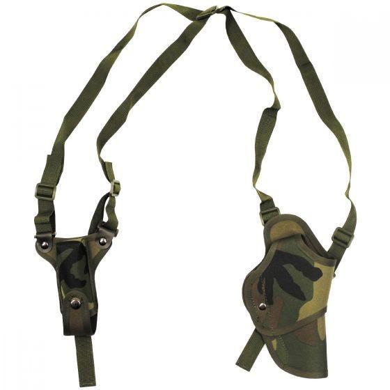 MFH Pistolen-Schulterholster für Rechtshänder Woodland