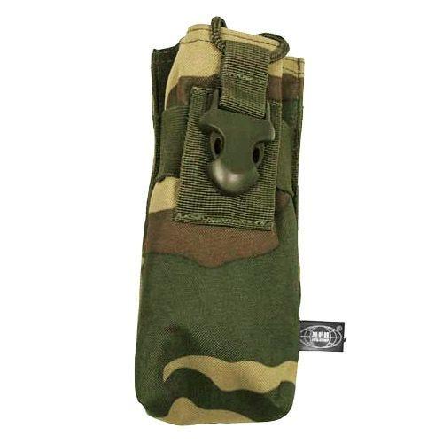 MFH PRC 148 MBITR Tasche für Handfunkgerät mit MOLLE-Befestigungssystem Woodland
