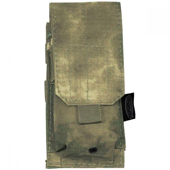 MFH Einzel-Magazintasche für M4/M16 mit MOLLE-Befestigungssystem HDT Camo FG