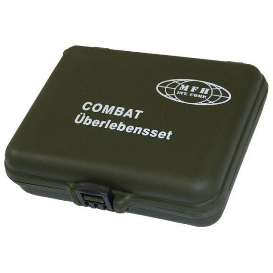 MFH Combat Überlebensset in Kunststoffbox