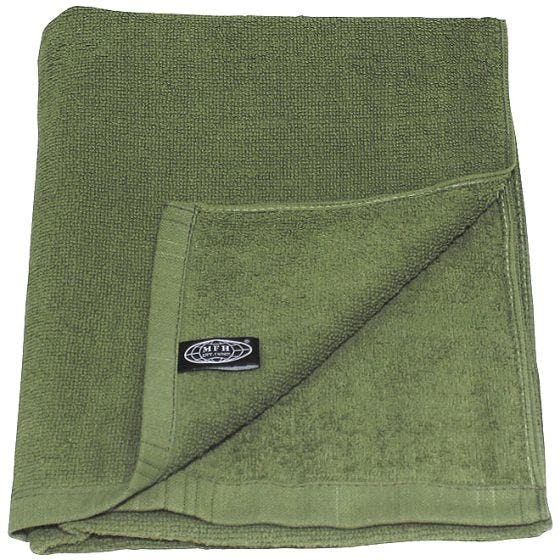MFH 110x50cm Frotteehandtuch OD Green