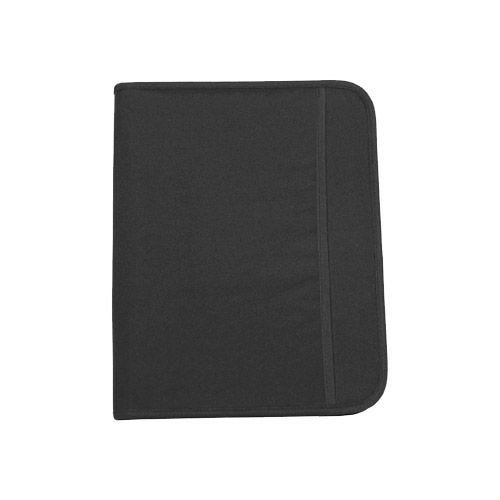 MFH De Luxe Schreibmappe mit Kartenhülle Schwarz