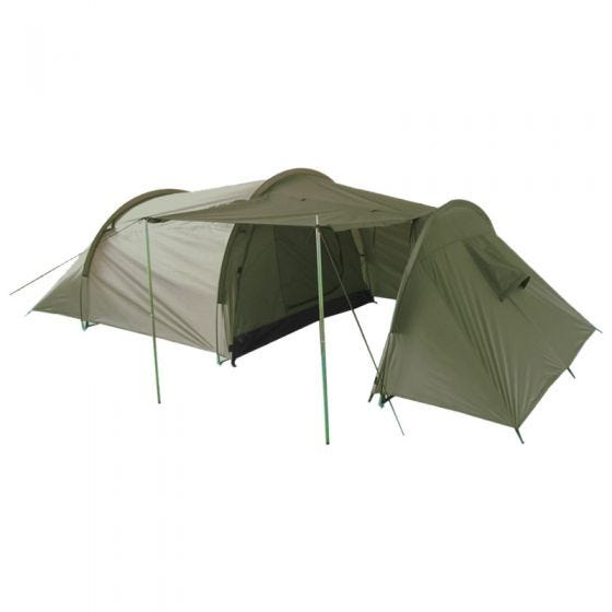 Mil-Tec 3-Personen-Zelt mit Stauraum