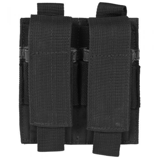Mil-Tec Doppel-Magazintasche für Pistolenmagazine Schwarz