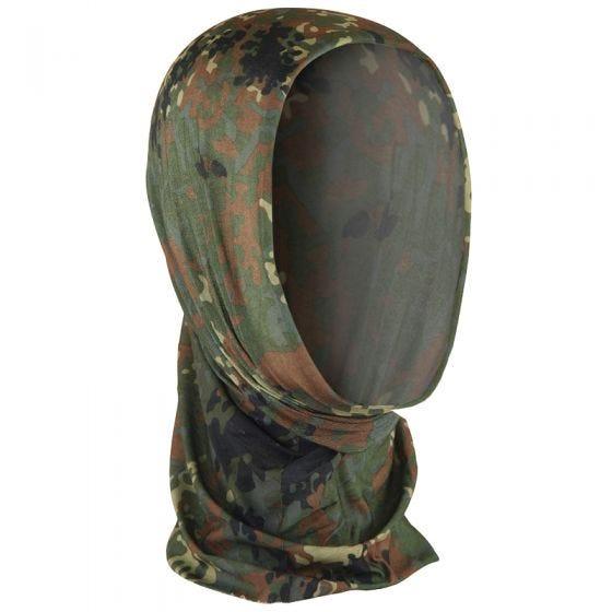 Mil-Tec Multifunktionale Kopfbedeckung Flecktarn