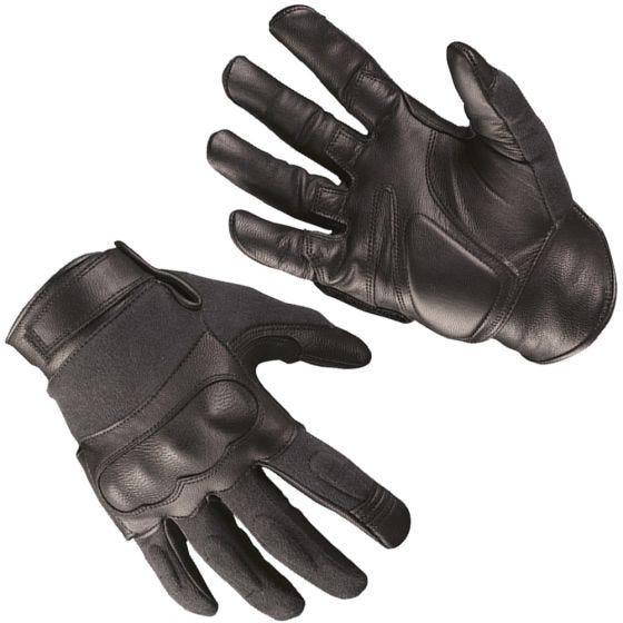 Mil-Tec Taktische Handschuhe aus Leder/Kevlar Schwarz