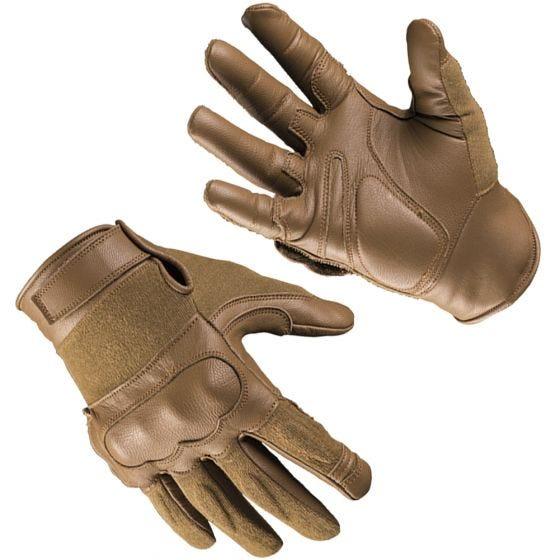 Mil-Tec Taktische Handschuhe aus Leder/Kevlar Dark Coyote