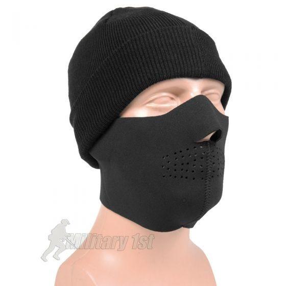 Mil-Tec Neopren-Gesichtsschutz Schwarz