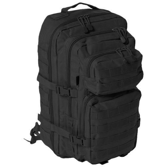 Mil-Tec One Strap Assault Pack Large Einsatzrucksack mit einem Träger Schwarz