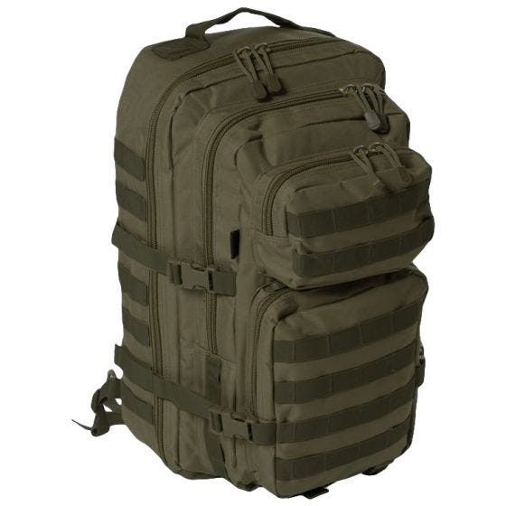 Mil-Tec One Strap Assault Pack Large Einsatzrucksack mit einem Träger Oliv