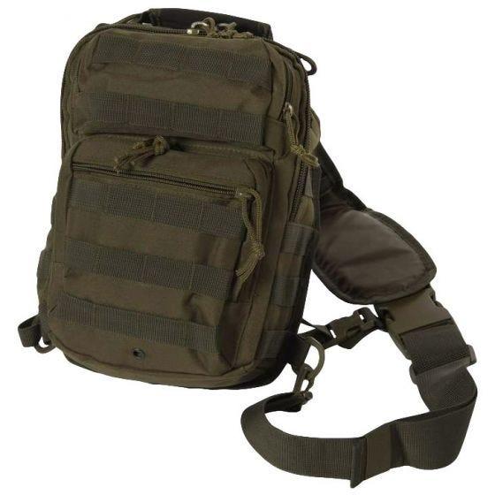 Mil-Tec One Strap Assault Pack Small Einsatzrucksack mit einem Träger Oliv