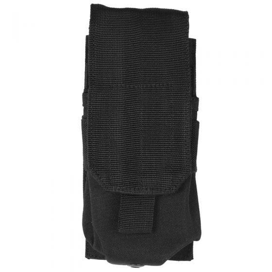 Mil-Tec M4/M16 Einzel-Magazintasche mit MOLLE-Befestigungssystem Schwarz