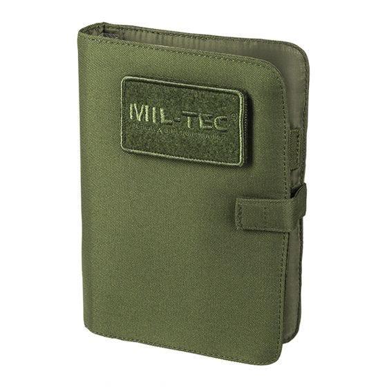 Mil-Tec Taktisches Notizbuch Klein Oliv