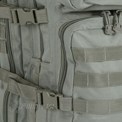 Mil-Tec US Assault Pack Large Einsatzrucksack mit MOLLE-Befestigungssystem Laub