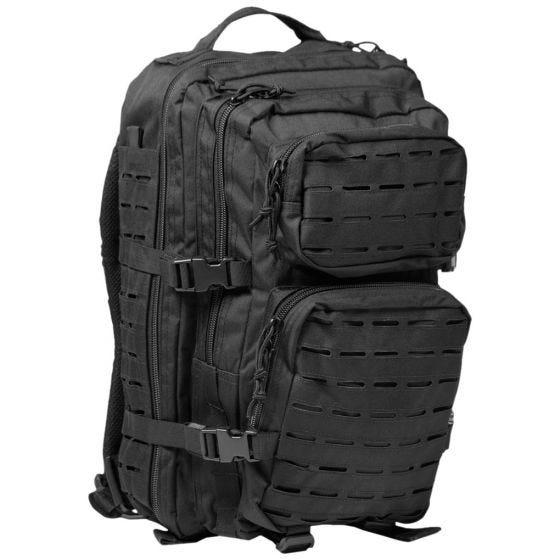 Mil-Tec US Assault Pack Laser Cut Large Einsatzrucksack Schwarz