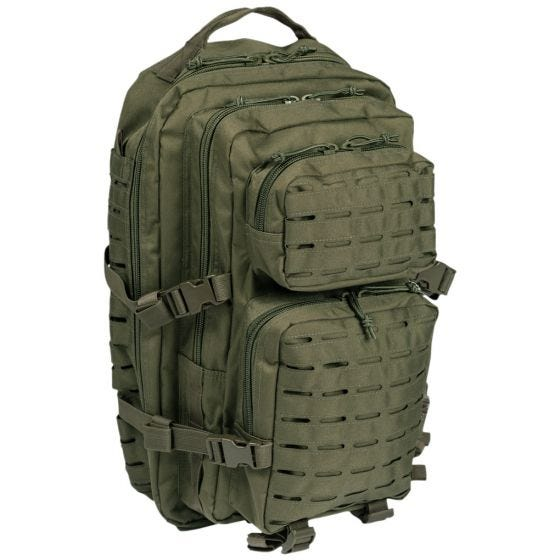 Mil-Tec US Assault Pack Laser Cut Large Einsatzrucksack Oliv